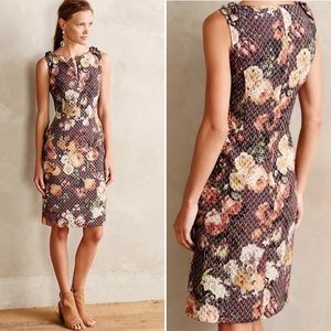 Tabitha Quilted Tema Sheath Dress Anthropologie